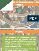 Components of Transportation System