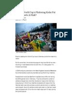 Do the World Cup's Fluttering Kicks Put Fans' Hearts at Risk_ _ Shots - Health News _ NPR