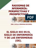 Pres_7_paradigmas de Enfermería. 3 Diciembre 2008