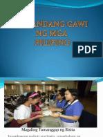 MAGANDANG GAWI NG MGA PILIPINO
