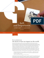 Self, and Importance. A Call to Reflection and Action Ebook