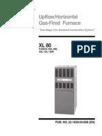 Trane Furnace XL 80