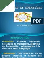 1ere S2 Biochimie -Vitamine Et Coenzyme-2