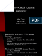 INV COGS Account Generator.ppt