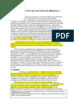 5. Proceso Técnico de Los Fondos de Biblioteca