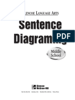 Sentence Diagramming Middle School