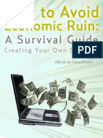 How to Avoid Economic Ruin a Survival Guide
