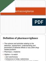 Pharmacovigilance Introduction