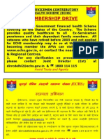 Echs.gov.in Images PDF Membership Drive