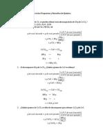 Ejercicios de Quimica Propuestos y Resueltos