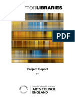 Common Libraries Project Report 2014
