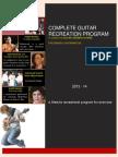 Guitarmonk Complete Recreation Program