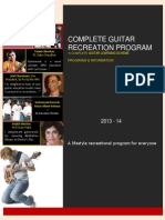 Guitarmonk Complete Recreation Program