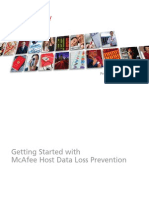 Getting Started With McAfee DLP Host