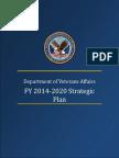 US Veterans Affairs 2014 2020 strategic Plan Draft