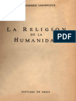 Lagarrigue, Juan Enrique - La Religión de La Humanidad