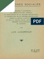 Lagarrigue, Luis - Cuestiones Sociales