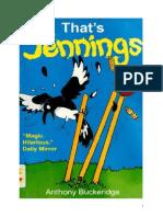 Anthony Buckeridge Bennett 24 VO That's Jennings-Ça c'Est Jennings ! 1994