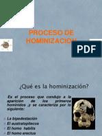 Hominizacion Exposicion Teoria de Sistemas