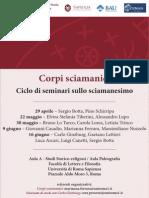 Corpi Sciamanici Calendario Programma-libre