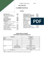 S5-B Cambio - Manual