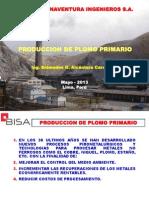Tema 9 - Fundición 1° parte - Producción de Plomo Primario