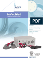 InVacMed vacuum massage add-in for electrotherapy device