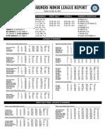 07.13.14 Mariners Minor League Report