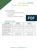 1.3 - Multiplicação e Divisão. Propriedades - Ficha Informativa