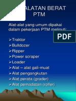 Peralatan Berat- Tractor