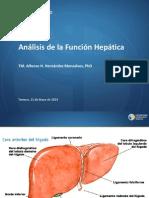 9. Analisis de La Funcion Hepatica