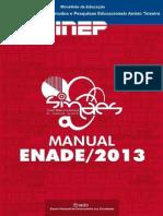 Manual Enade 2013