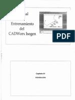 (CADWORKX) Manual de Entrenamiento Del Cadworx(ISOGEN)