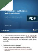 5. Evaluacion de Metodos Analiticos