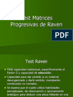 Test Matrices Progresivas de Raven