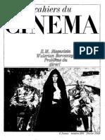 Cahiers Du Cinema 209