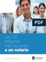 Compendio de las 100 preguntas más frecuentes realizadas a un notario, extraídas de las más de 400 preguntas realizadas por los usuarios a nuestro Consultorio Jurídico..pdf