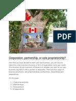 CANADA Corporation