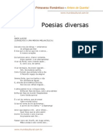 Antero de Quental - Poesias Diversas
