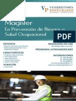 Magister Prevencion Riesgosy Salud Ocupacional