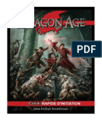 Dragon Age JdR Guide Rapide Initiation