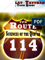 Sciences of the Qur'Ān (Route 114) (Tayybah)
