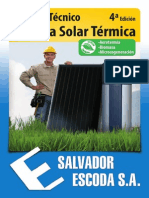 Manual Energia Solar 4a Ed Salvador Escoda