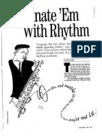 Fascinate 'Em With Rhythm