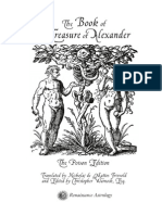 The Book of the Treasure of Alexander BOTA-poisonextract
