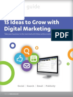 15 Ideas to Grow With Digital Marketing