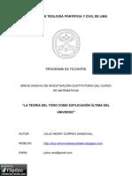Correa Sandoval, Julio Henry - Teoría Del Todo