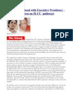 UNP's Knotty Bond With Executive Presidency-Tortuous Progress on SI-CC Pathways