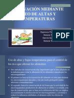 Conservacion Por Alta y Bajas Temperaturas