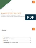 Bullying en El Peru GfK Informe Sobre Bullying Junio 2012